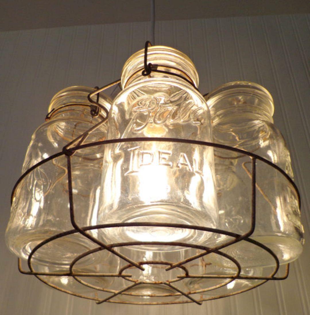 DIY Basket Light Fixture (DIY Basket Light Fixture) design