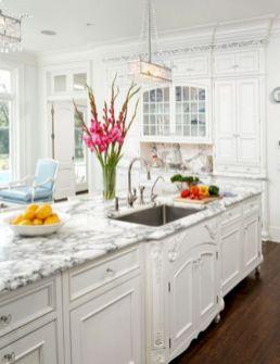 Elegant White Kitchen Cabinets