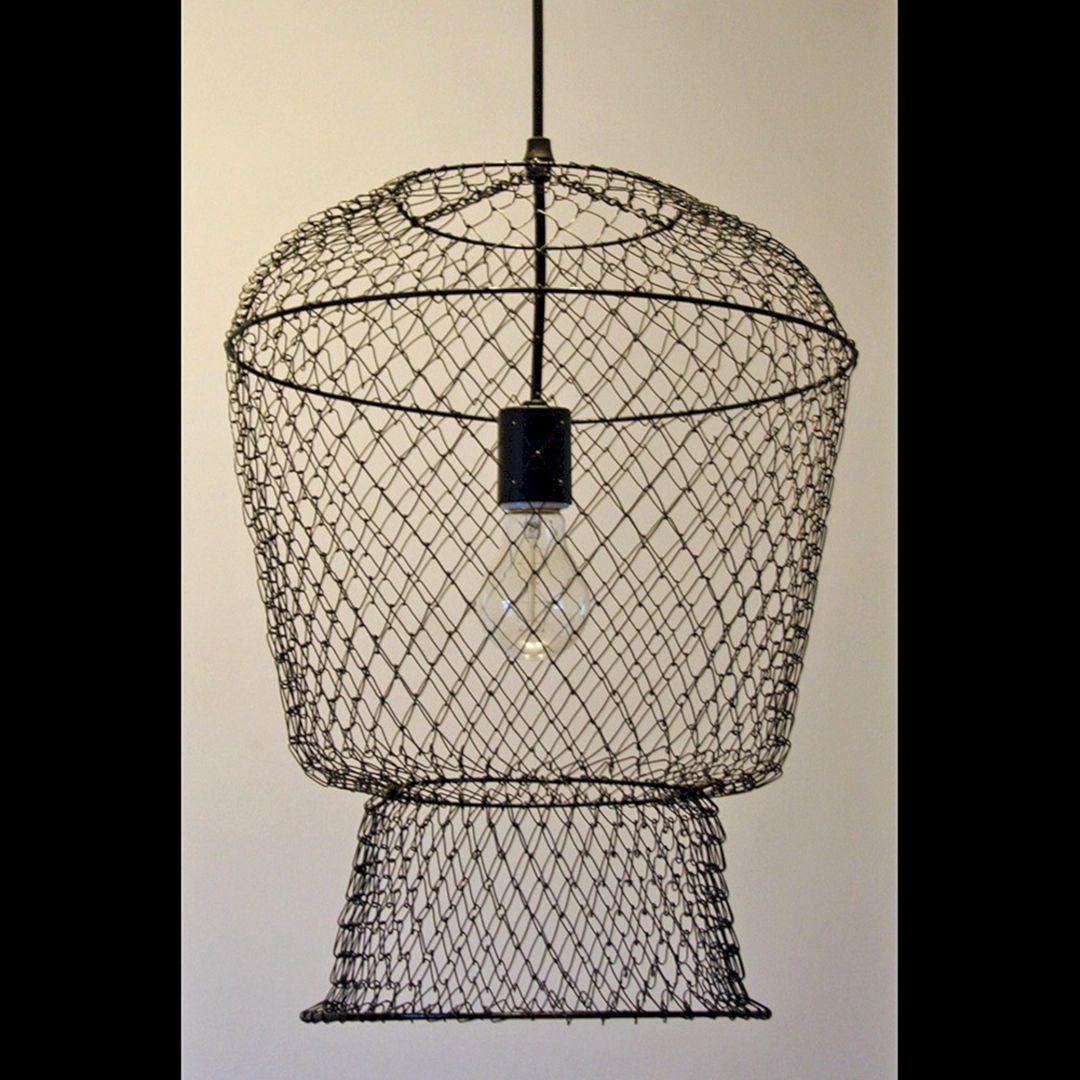 Fishing Basket Light Fixture (Fishing Basket Light Fixture