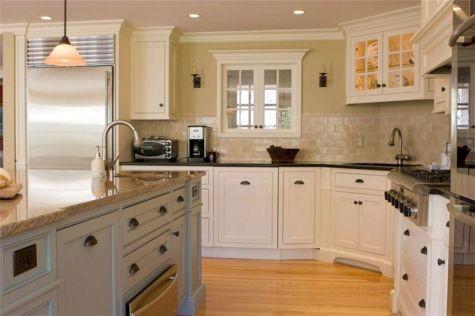 Kitchen Ideas With White Cabinet