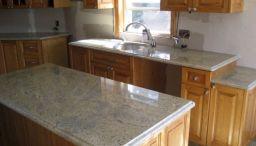 Large Tile Kitchen Countertop