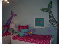 Little Girls Mermaid Room Decor
