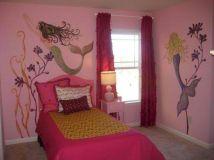 Little Girls Mermaid Rooms Decor
