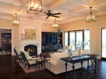 Mediterranean Home Living Room