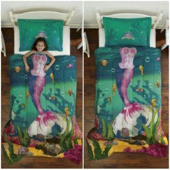 Mermaid Bedding For Girls Bedroom