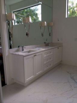 Porcelain Slab Countertops Bathroom