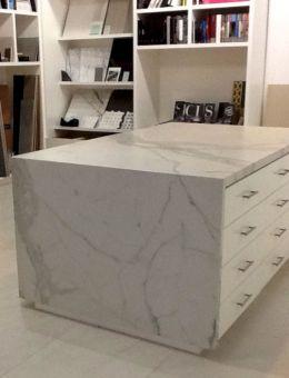 Slab Porcelain Countertop Kitchen