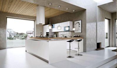 White Kitchen Designs With Islands
