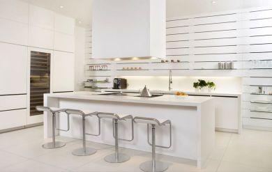 White Modern Kitchen Design Ideas