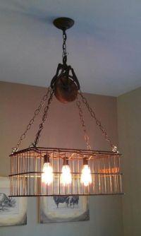 Wire Basket Light Fixture (Wire Basket Light Fixture ...