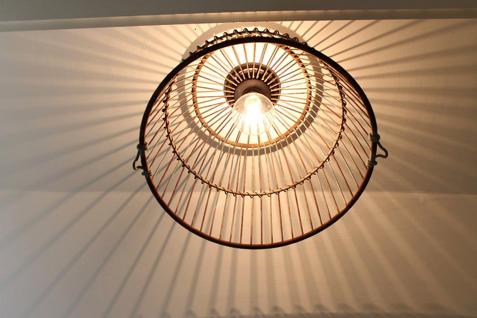 Wire Basket Pendant Light Fixtures (Wire Basket Pendant