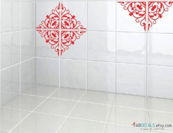 Bathroom Tile Decal Sticker