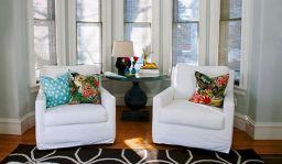 Bay Window Living Room Chair