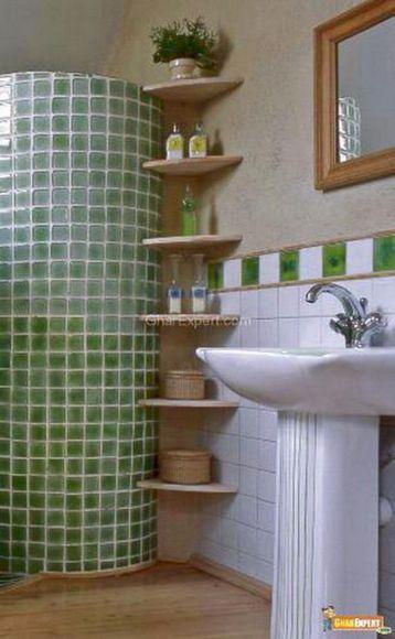 DIY Small Bathroom Storage