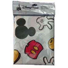 Disney Mickey Mouse Shower Curtain Bathroom Set