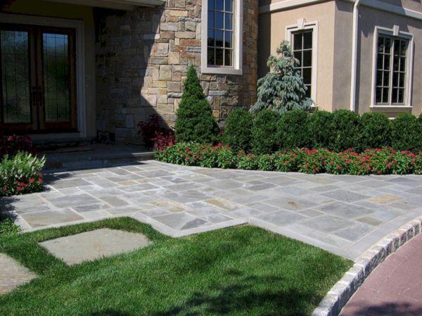 front entrance landscaping idea