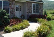 Fronts Entrance Landscaping Idea