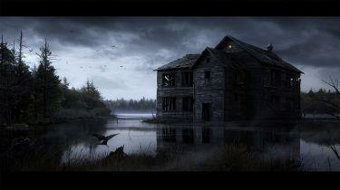 Halloween Creepy Abandoned Houses