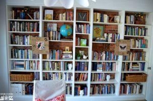 IKEA Billy Built In Bookshelves