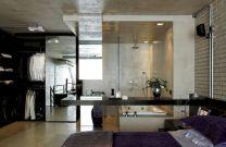 Industrial Studio Apartment Design Ideas