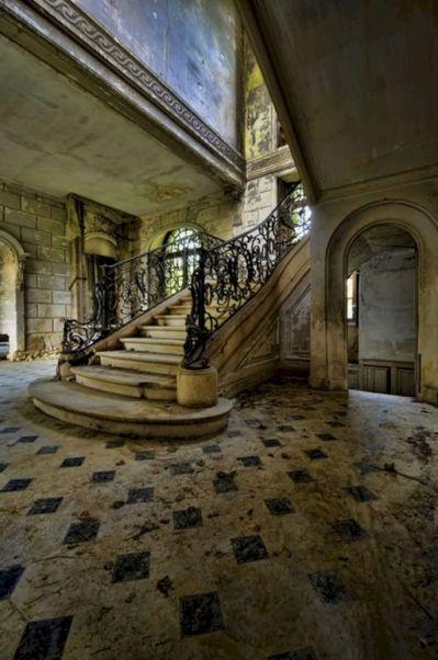 Inside Abandoned Mansion