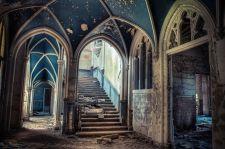 Inside Old Abandoned Mansion