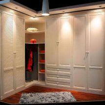 L Shaped Closet Wardrobe