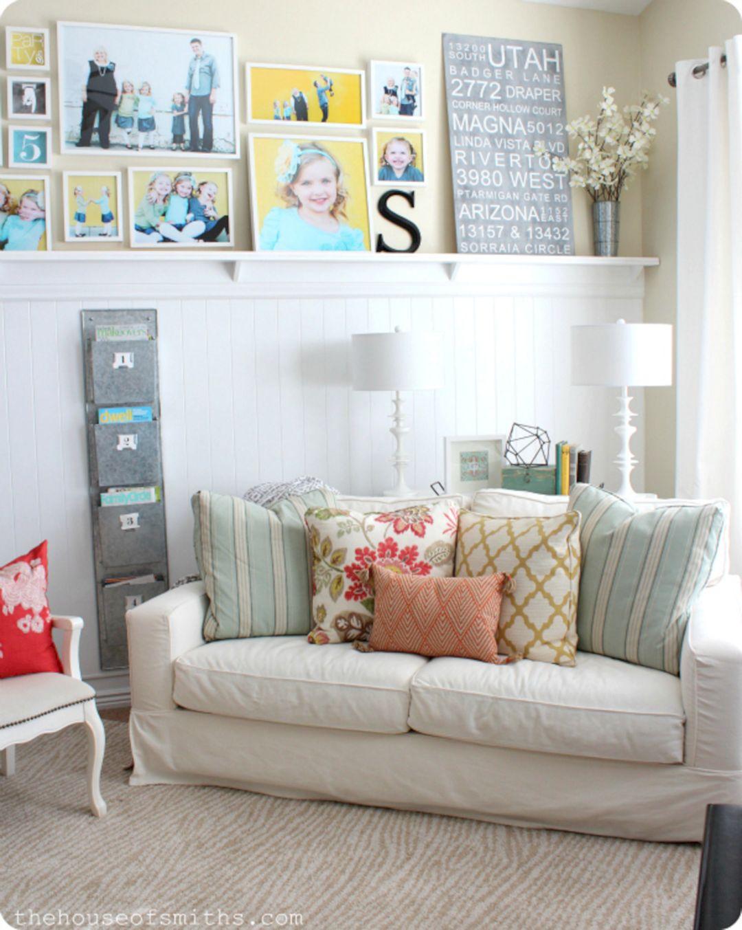 Living Room Pillow Ideas