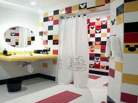 Mickey Mouse Bathroom Decor Design