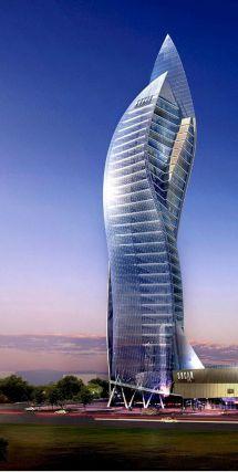 Modern Architecture Tower