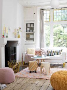 Modern Pastel Living Room