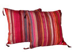 Moroccan Striped Pillow