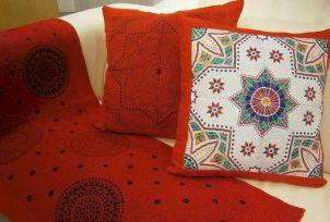 Moroccan Style Throw Pillows