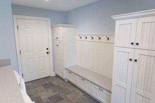 Mudroom Laundry White Room