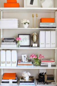 Office Bookshelf Styling Ideas (Office Bookshelf Styling ...