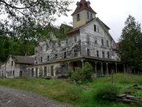 Old Abandoned Hotel New York