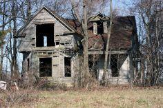 Old Abandoned Mansion House