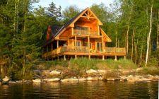 Rustic Lake Home House Plans