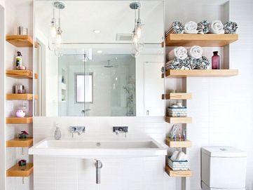 Shelves Bathroom Storage Ideas