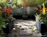 Small Gardens Patio Design Idea