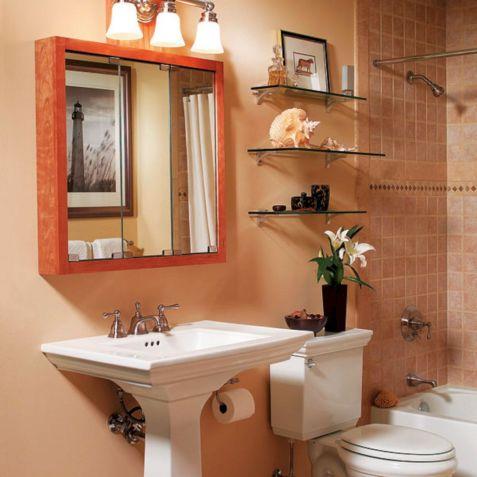 Small Space Bathroom Storage Idea