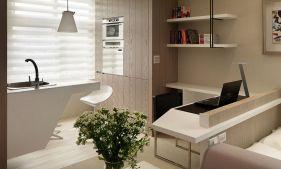 Small Studio Apartment Kitchen Design Ideas