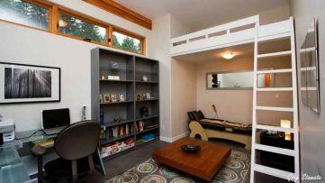 Small Studio Apartment Loft Bed Ideas