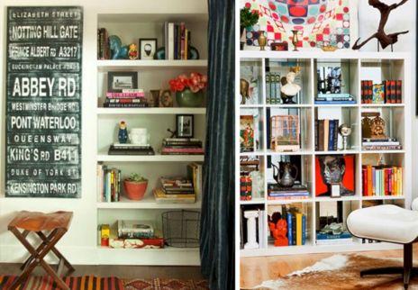 Styling Bookshelfs With Book