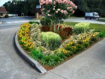 Office Entrance Landscaping Design