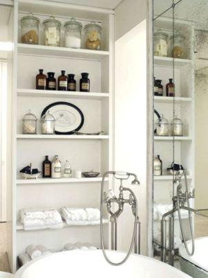 Vintage Bathroom Storage