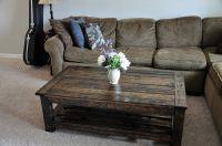 Wood Pallet Coffee Table (Wood Pallet Coffee Table) design