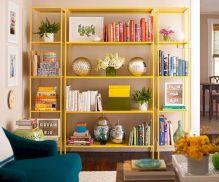 Yellow Shelves IKEA