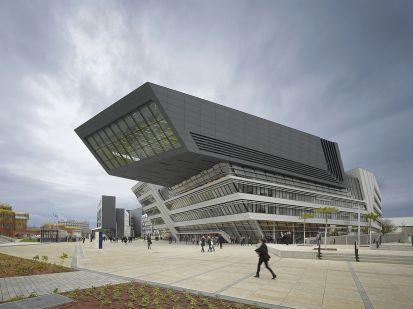 Zaha Hadid Library University Of Vienna Economics