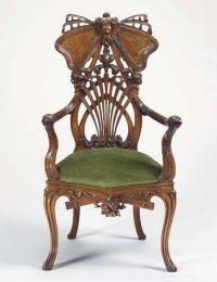 Art Nouveau Carved Chair (Art Nouveau Carved Chair) design